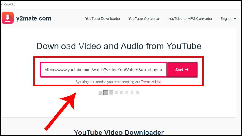 Tải video trên YouTube với y2mate
