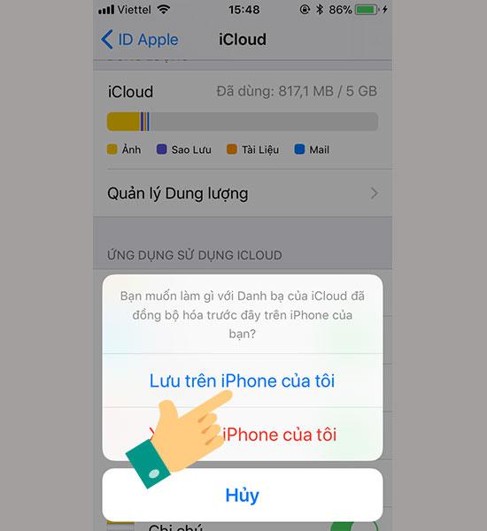 Sao lưu danh bạ trên iPhone với iTools - Thegioididong com