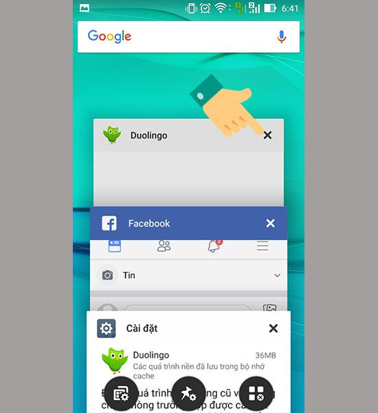 tat cac ung dung chay ngam de tang toc va tiet kiem pin cho android 7 - Khắc phục lỗi không đăng nhập được Facebook trên Iphone, Android và Laptop 2019