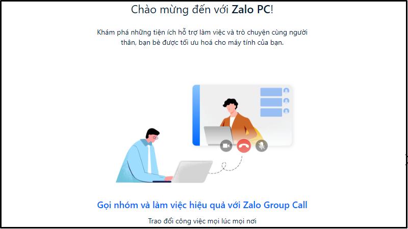 Bắt đầu sử dụng Zalo PC