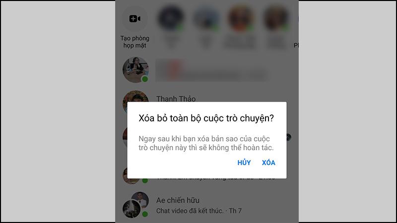 Cách xem lại, khôi phục tin nhắn đã xóa trên Facebook Messenger