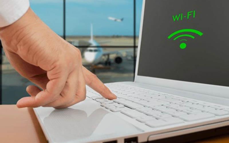 Đặt máy tính tại nơi có thể nhận tín hiệu không dây