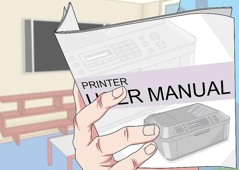 Bước 4: Xem sách hướng dẫn đi kèm với máy in để biết cách thiết lập mạng. Nếu không có sách, bạn có thể tìm trên trang hỗ trợ của nhà sản xuất