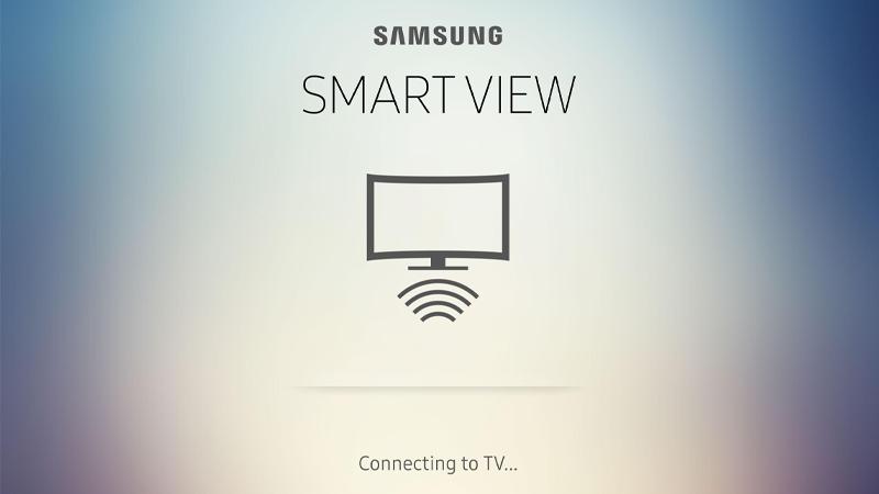Sử dụng ứng dụng Samsung Smart View nếu dùng Samsung Smart TV