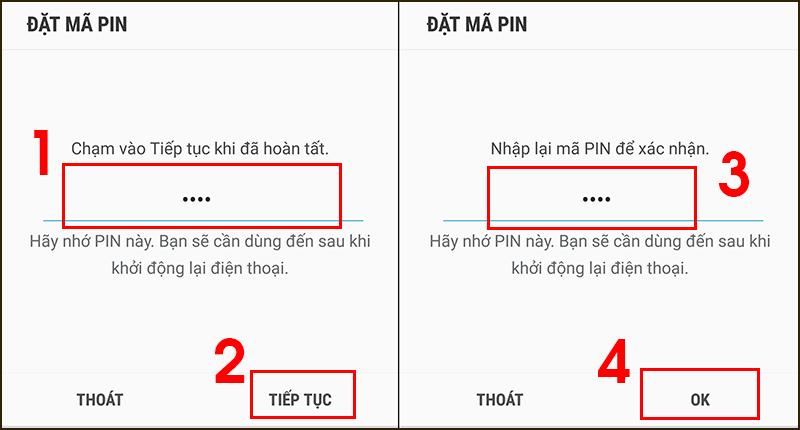 Cách cài mật khẩu trên điện thoại Samsung cực đơn giản