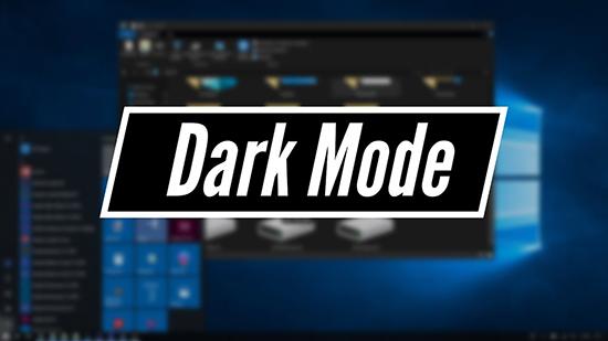 Thiết lập chế độ Dark Mode trên Windows 10 October 1809 ...