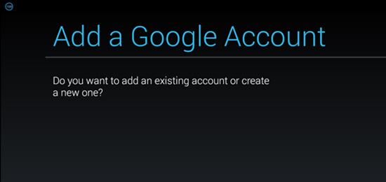 Cách thêm tài khoản Google trên thiết bị Android