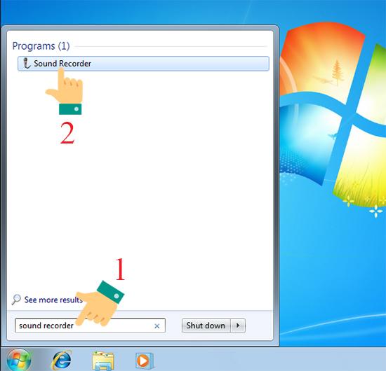 Cách ghi âm trên máy tính dùng Windows 7 và Windows 10