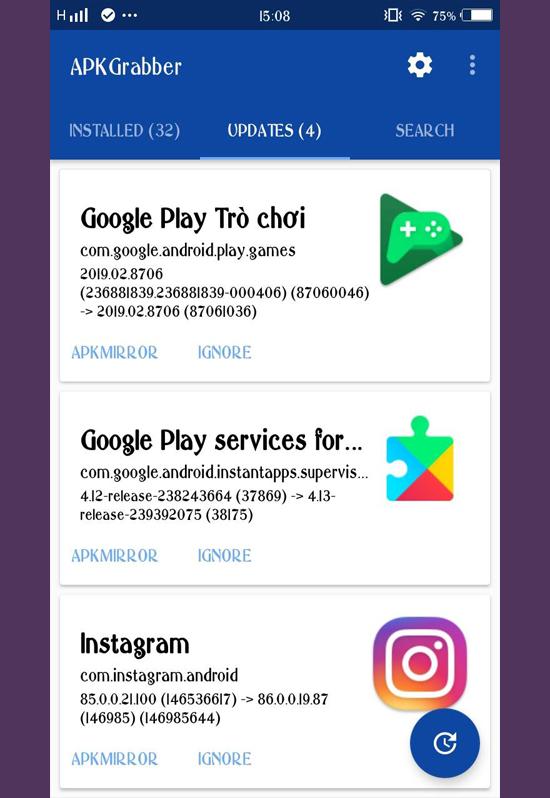 Cách cập nhật cho Android không cần thông qua Google Play