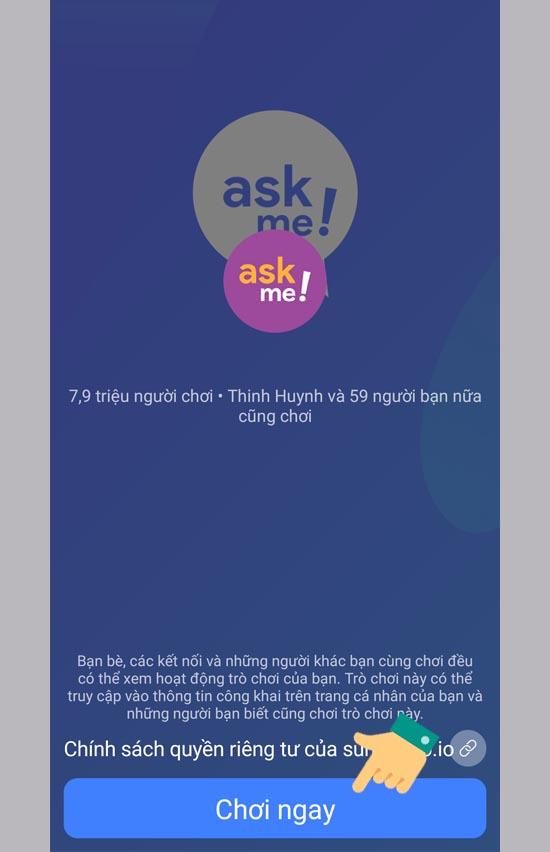 Cách hỏi tôi bất cứ điều gì với Ask Me trên Facebook – cafekientruc.com