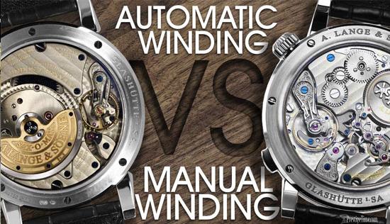 Cách nhận biết đồng hồ Automatic