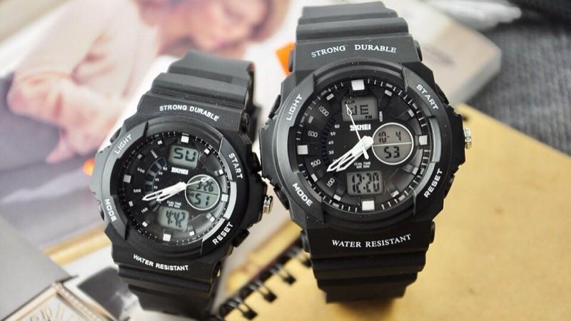 Hình ảnh đồng hồ đôi Skmei