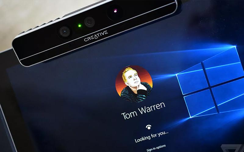 Webcam, camera nào hỗ trợ nhận dạng gương mặt trên laptop