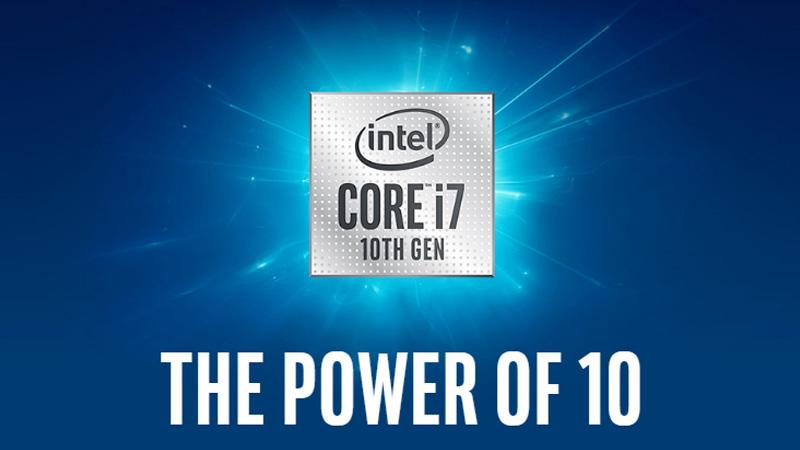 intel core i7 gen 10 comet lake