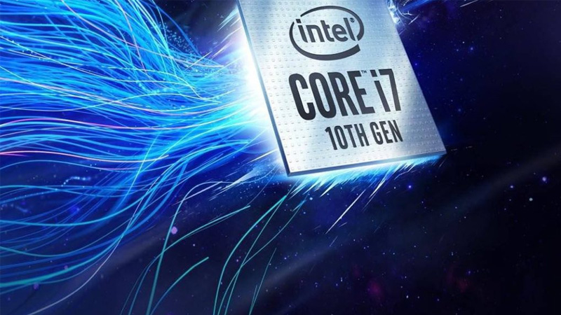 intel core i7 Gen 10 Ice Lake