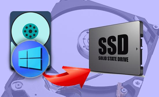 Cách chuyển hệ điều hành Windowss từ HDD sang SSD.