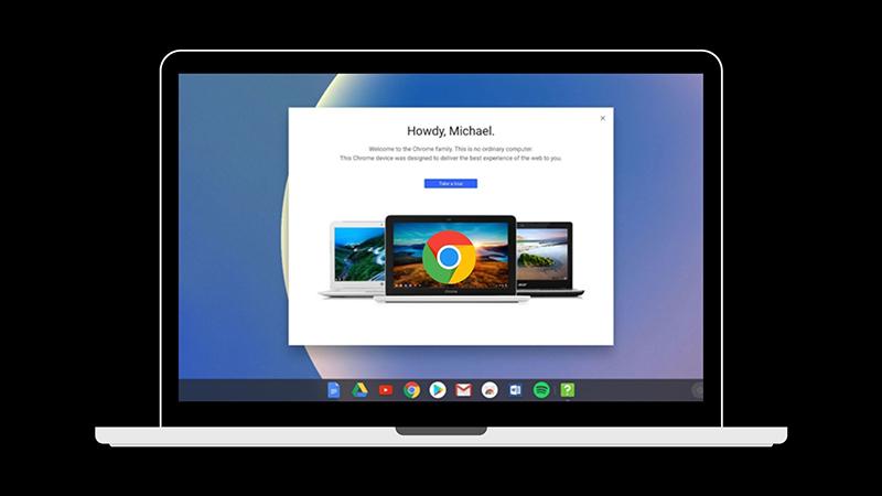 Hệ điều hành Chrome OS do Google phát triển