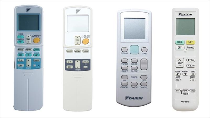 Giới thiệu cơ bản về các điều khiển của máy lạnh Daikin thế hệ cũ