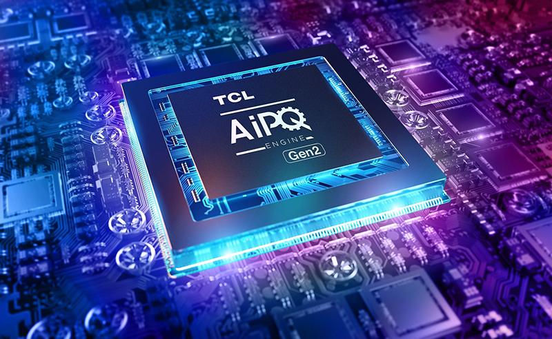 Tivi TCL ứng dụng chip xử lý hình ảnh và âm thanh AiPQ