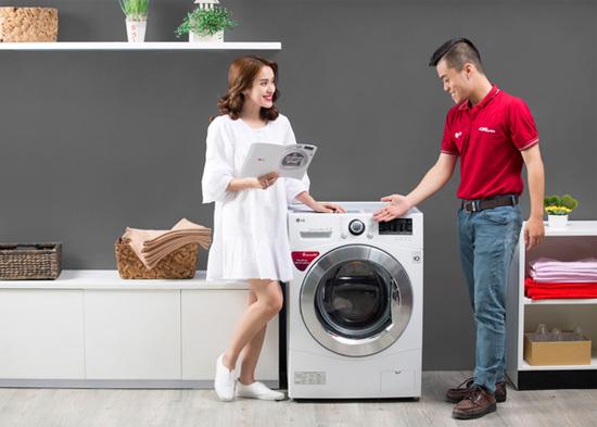 Mã lỗi trên máy giặt LG và cách khắc phục đơn giản, nhanh chóng