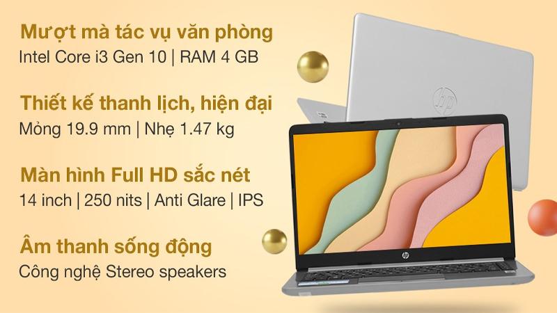 Đặc điểm nổi bật của laptop HP 240 G8 i3