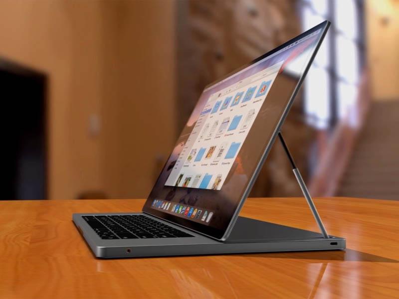 Laptop kết hợp với máy tính bảng của Apple