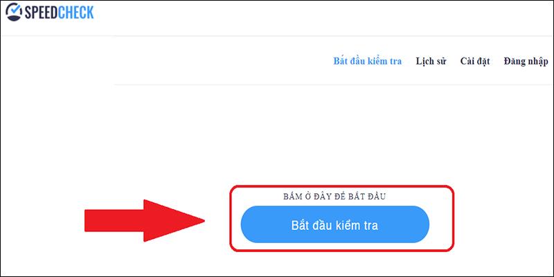 Kiểm tra tốc độ mạng qua web copypastetool.com