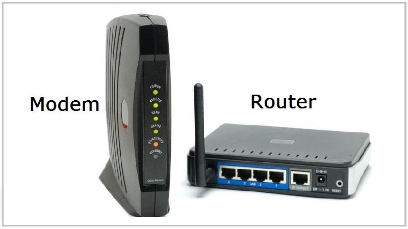 Phân biệt Router và Modem