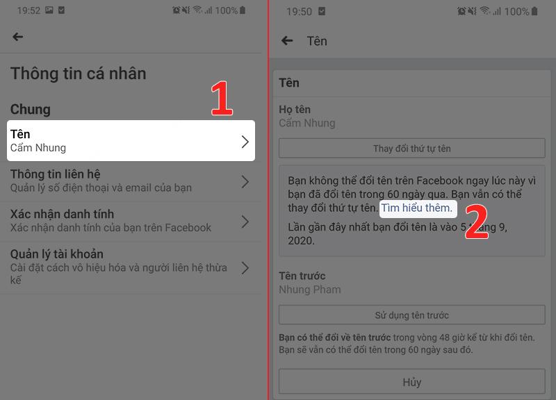 Hướng dẫn đổi tên Facebook bằng cách gửi ảnh giấy tờ tùy thân (2)