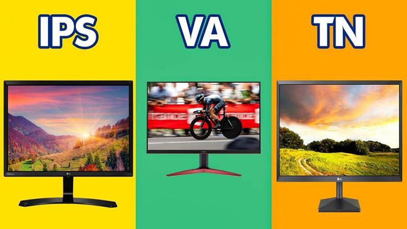 Các loại tấm nền màn hình cho thời gian phản hồi nhanh