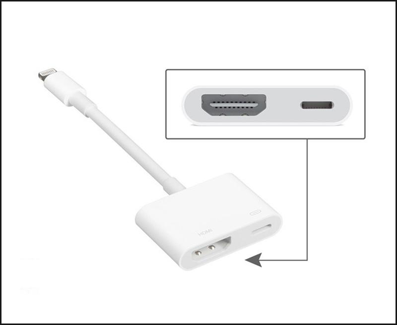 Cáp chuyển đổi Lightning sang HDMI