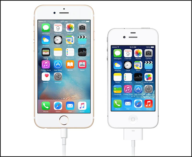 Cắm một đầu dây cáp vào lỗ sạc iPhone
