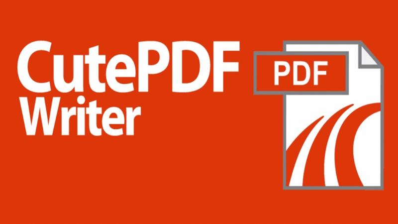 Phần mềm CutePDF Writer