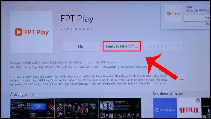 tải và ứng dụng trên smart tivi Samsung