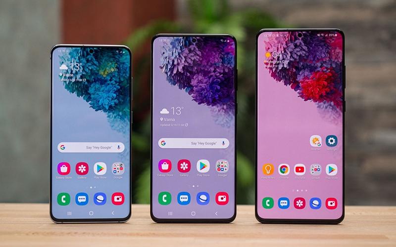 Samsung Galaxy S21, Samsung Galaxy S21+ và Samsung Galaxy S21 Ultra