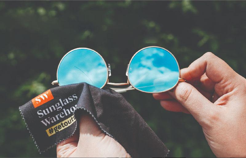 Bảo quản mắt kính tráng gương