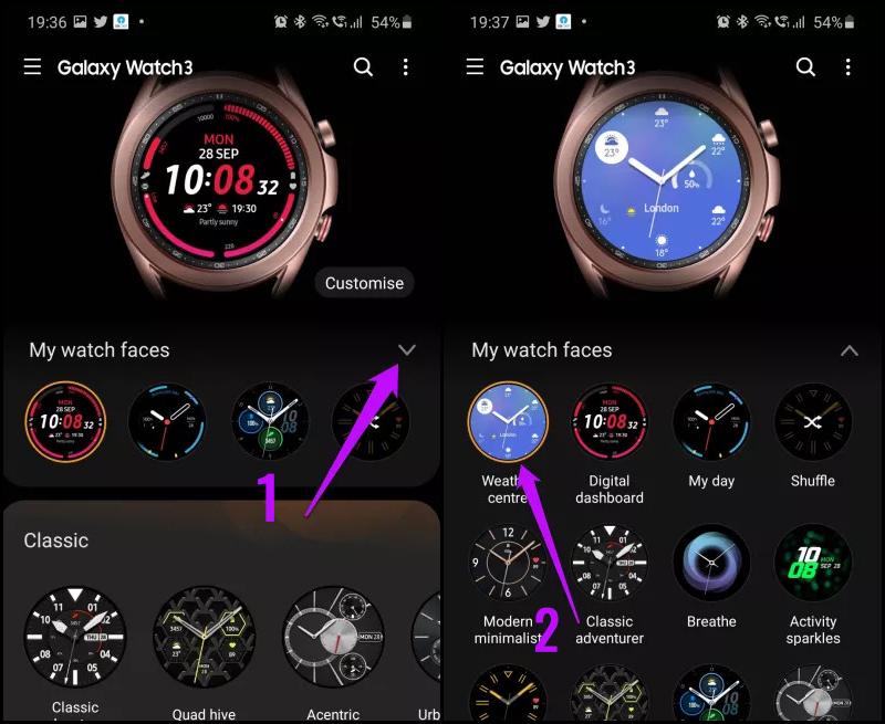 Mặt đồng hồ có nhiều tính năng tự động khác nhau