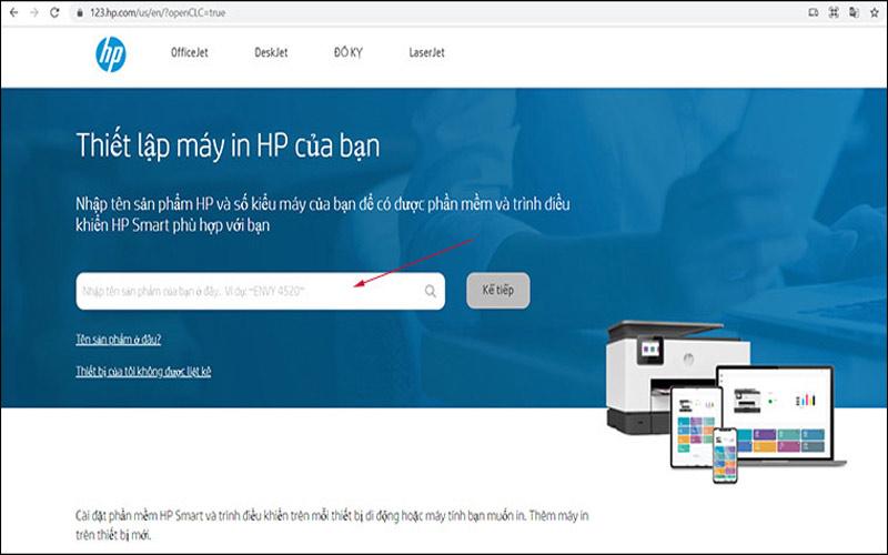 Hướng dẫn cài đặt driver cho máy in HP