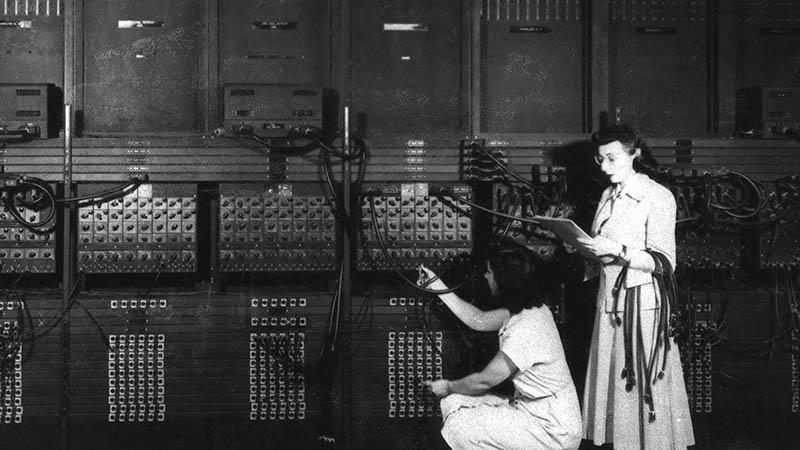 Máy tính đầu tiên ENIAC