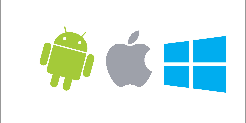 android, windows, ios