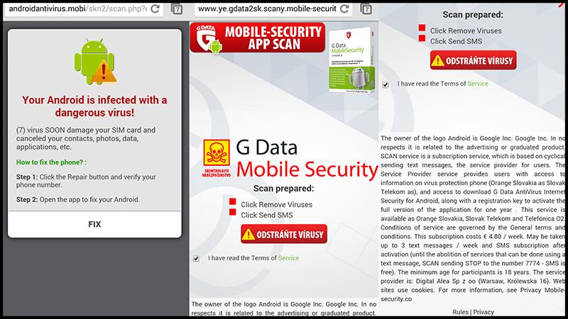 Scareware thường ngụy trang thành những phần mềm chống virus