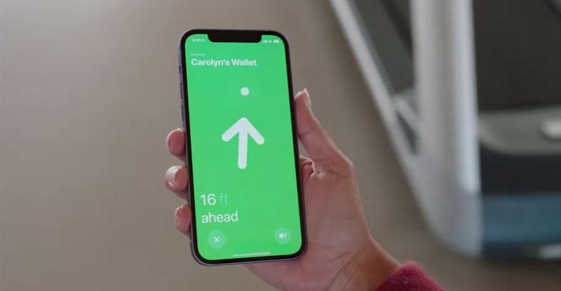 Có thể sử dụng iPhone, iPad, Apple Watch cũng như Macbook của mình để theo dõi vị trí của AirTag
