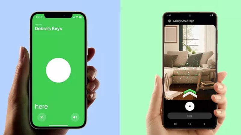 AirTag sẽ gửi vị trí của iPhone, iPad, Apple Watch hay Macbook mà nó tìm được