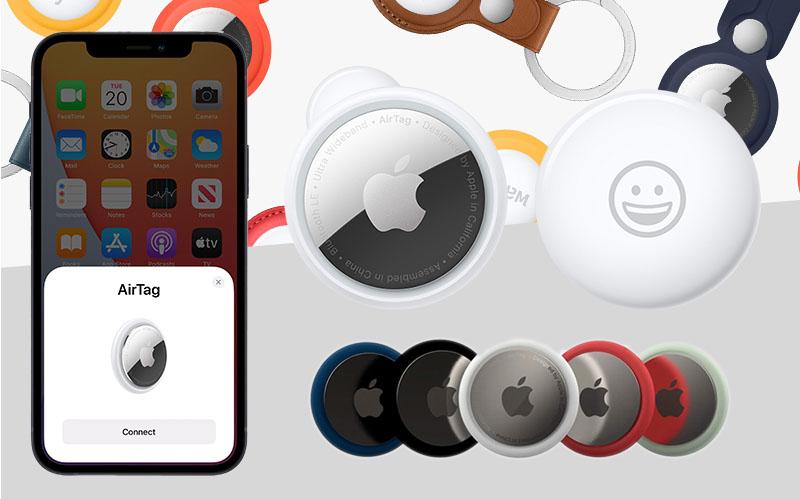 AirTag có thể đo chính xác khoảng cách tới iPhone