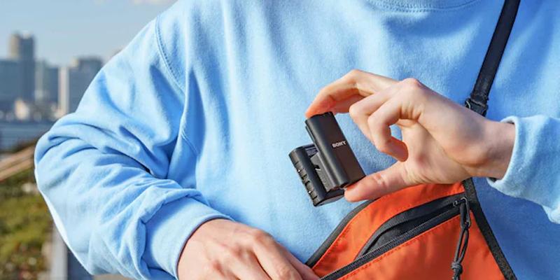 Sony ra mắt ECM-W2BT, micro chuyên dụng cho Vlogger, giá hơn 5 triệu