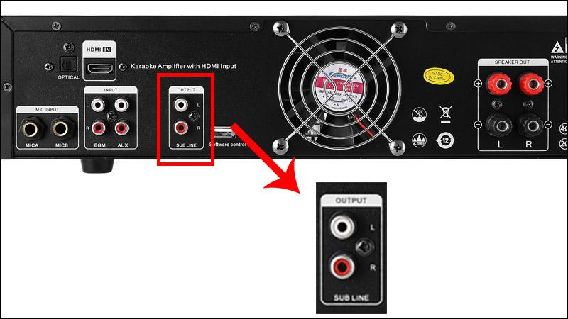 Hướng dẫn cách kết nối amply với loa sub chi tiết dễ dàng tại nhà