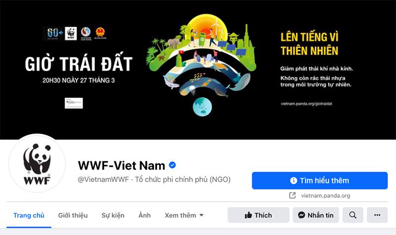 fanpage wwf vietnam