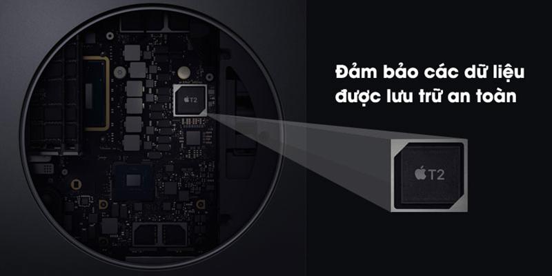 Bảo mật thông tin cá nhân, dữ liệu với chip T2