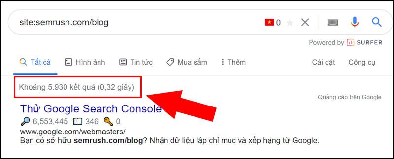 Tìm tần suất đối thủ cạnh tranh xuất bản nội dung mới