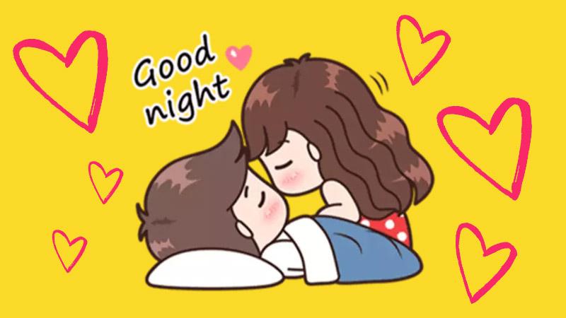 Những lời chúc ngủ ngon cho các cặp gà bông